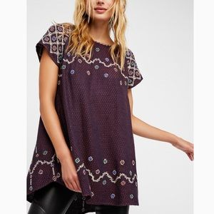 Free People In the clouds tunic/top dress